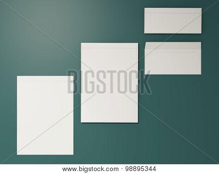 Corporate Identity Template Design Stationery