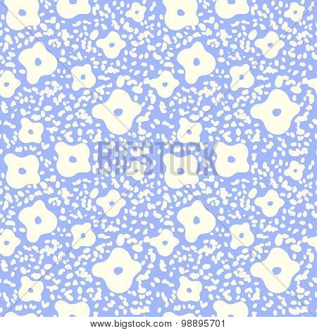 Floral seamless background - pattern for continuous replicate. See more seamless backgrounds in my p