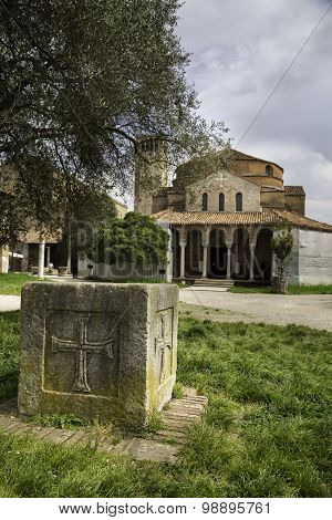 Santa Fosca Cathedral And Basilica On The Island Of Torcello