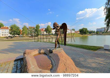 Island of Courage and Sorrow, Minsk, Belarus