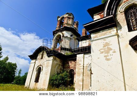 Deserted Old Ortodox Church