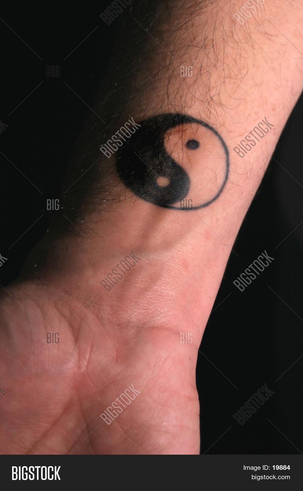 Yin Yang Tattoo On Arm Stock Photo & Stock Images | Bigstock