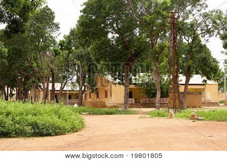 Old French barracks in Africa