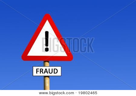 Fraud Warning Sign