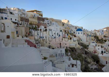 Santorini  Cityscape