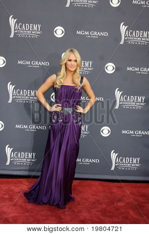 LAS VEGAS - APR 3:  Carrie Underwood arriving at the Academy of Country Music Awards 2011 at MGM Grand Garden Arena on April 3, 2011 in Las Vegas, NV.