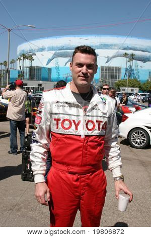 LOS ANGELES - APR 5:  Brian Austin Green at the Toyota Pro/Celeb Race Press Day 2011 at Long Beach Grand Prix Toyota Compound on April 5, 2011 in Long Beach, CA