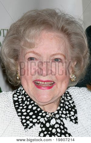 "LOS ANGELES - APR 9:  Betty White in the green room of ""Actors and Others for Animals"" Annual Fundraiser 2011 at Universal Hilton Hotel on April 9, 2011 in Los Angeles, CA"
