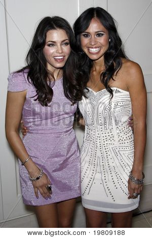 "LOS ANGELES - APR 13:  Jenna Dewan-Tatum, Kimberly Snyder arriving at the Kimberly Snyder Book Party For ""The Beauty Detox Solution"" at London Hotel on April 13, 2011 in West Hollywood, CA"