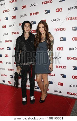 LOS ANGELES - APR 14:  Casey Patridge and Kyle Loza arrive at the OK magazine 'Sexy Singles Party'  at The Lexington Social House on April 14, 2011 in Los Angeles, CA.