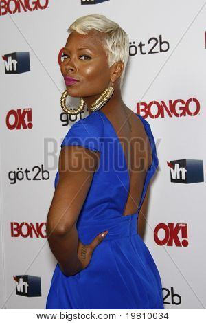 LOS ANGELES - APR 14:  Eva Marcille arrives at the OK magazine 'Sexy Singles Party'  at The Lexington Social House on April 14, 2011 in Los Angeles, CA.
