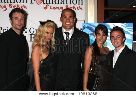 LOS ANGELES - APR 15: Goddard, Jenna Jameson, Tito Ortiz, Elycia Turnbow , Frankie Muniz attending the 2011 Toyota Grand Prix Charity Ball at the Westin Long Beach on April 15, 2011 in Long Beach, CA.