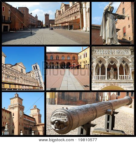 A Postcard From Ferrara - Italy