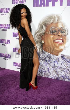 "LOS ANGELES - APR 19:  Teyana Taylor arrives at the ""Madea's Big Happy Family"" Premiere at ArcLight Cinemas Cinerama Dome on April 19, 2011 in Los Angeles, CA.."