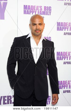 "LOS ANGELES - APR 19:  Philip Anthony-Rodriguez  arrives at the ""Madea's Big Happy Family"" Premiere at ArcLight Cinemas Cinerama Dome on April 19, 2011 in Los Angeles, CA.."