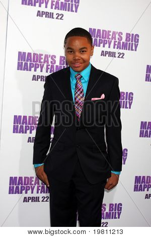 "LOS ANGELES - APR 19:  Steve Wash arrives at the ""Madea's Big Happy Family"" Premiere at ArcLight Cinemas Cinerama Dome on April 19, 2011 in Los Angeles, CA.."