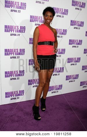 "LOS ANGELES - APR 19:  Vanessa Williams arrives at the ""Madea's Big Happy Family"" Premiere at ArcLight Cinemas Cinerama Dome on April 19, 2011 in Los Angeles, CA.."