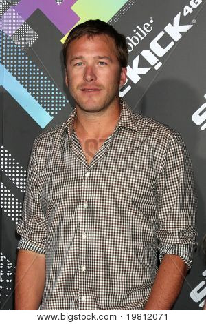 LOS ANGELES - APR 20:  Bode Miller arriving at the Launch Of The New T-Mobile Sidekick 4G  at Old Robinson/May Building on April 20, 2011 in Beverly Hills, CA.