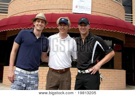 LOS ANGELES - APR 18: Zack Conroy, Jack Wagner, Kyle Lowder at the 2011 Jack Wagner Golf Classic to benefit The Leukemia & Lymphoma Society at Valencia Country Club on April 18, 2011 in Valencia, CA..