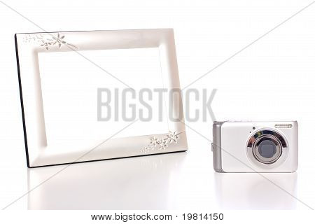 Photo Frame And Camera