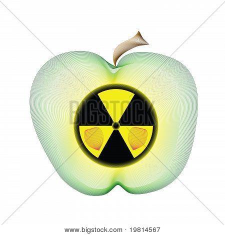 Apple radiactivo