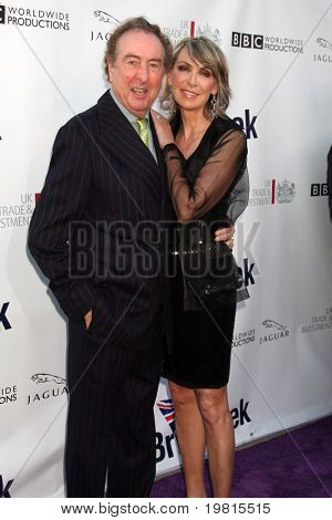 LOS ANGELES - APR 26:  Eric Idle and Wife arriving at the 5th Annual BritWeek Launch Party at British Consul General's residence on April 26, 2011 in Los Angeles, CA..