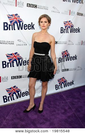 LOS ANGELES - APR 26: Amelia Jackson-Gray Ankunft auf dem 5th Annual BritWeek Launch Party am Briti
