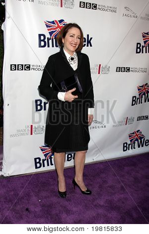 LOS ANGELES - APR 26:  Patricia Heaton arriving at the 5th Annual BritWeek Launch Party at British Consul General's residence on April 26, 2011 in Los Angeles, CA..