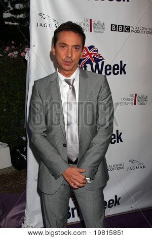 LOS ANGELES - APR 26:  Bruno Tonioli arriving at the 5th Annual BritWeek Launch Party at British Consul General's residence on April 26, 2011 in Los Angeles, CA..