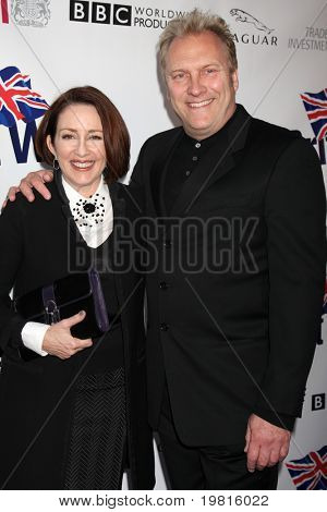 LOS ANGELES - APR 26:  Patricia Heaton, David Hunt arriving at the 5th Annual BritWeek Launch Party at British Consul General's residence on April 26, 2011 in Los Angeles, CA..