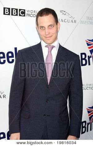 LOS ANGELES - APR 26:  Lord Frederick Windsor arriving at the 5th Annual BritWeek Launch Party at British Consul General's residence on April 26, 2011 in Los Angeles, CA..