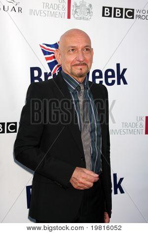 LOS ANGELES - 26 de Abr: Sir Ben Kingsley en el 5to anual BritWeek fiesta de lanzamiento en británicos