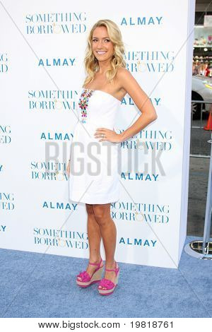 LOS ANGELES - MAY 3:  Kristin Cavallari arriving at the