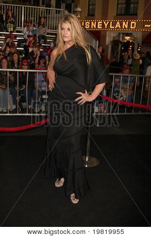 """LOS ANGELES - MAY 7:  Kirstie Alley arriving at the """"Pirates of The Caribbean: On Stranger Tides"""" World Premiere at Disneyland on May 7, 2011 in Anaheim, CA"""
