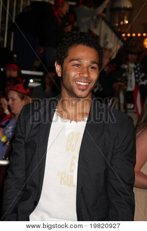 "LOS ANGELES - MAY 7:  Corbin Bleu arriving at the ""Pirates of The Caribbean: On Stranger Tides"" World Premiere at Disneyland on May 7, 2011 in Anaheim, CA"