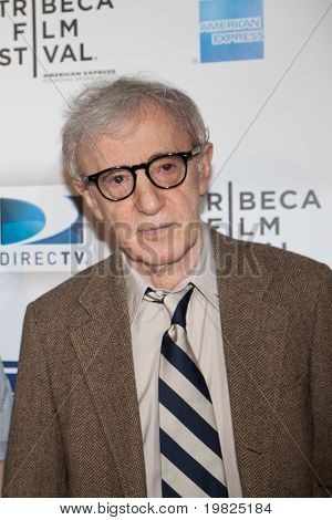 NEW YORK - APRIL 22: Director Woody Allen attends the premiere of 'Whatever Works' during the Tribeca Film Festival at Ziegfeld on April 22, 2009 in New York.