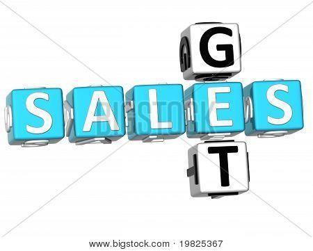 Get Sales Crossword