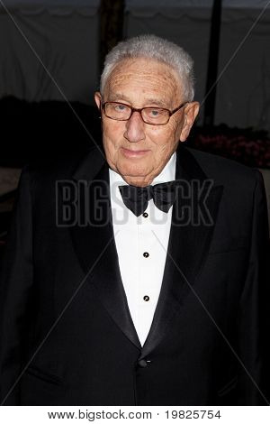 NEW YORK - SEPTEMBER 21: Dr. Henry A. Kissinger attends the Metropolitan Opera season opening  at the Lincoln Center for the Performing Arts on September 21, 2009 in New York City.