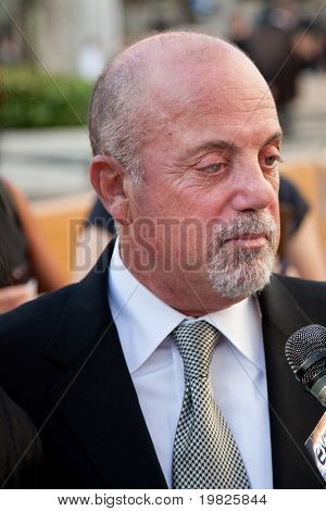NEW YORK - SEPTEMBER 21: Billy Joel attends the Metropolitan Opera 2009 season opening with a performance of 'Tosca' at Lincoln Center for the Performing Arts on September 21, 2009 in New York City.
