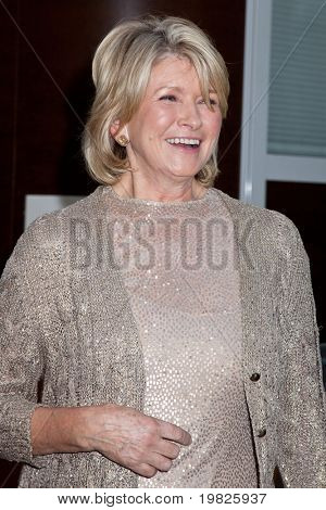 NEW YORK - SEPTEMBER 21: Martha Stewart attends the Metropolitan Opera 2009-10 season opening  at Lincoln Center for the Performing Arts on September 21, 2009 in New York City.