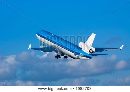 Airplane On Takeoff