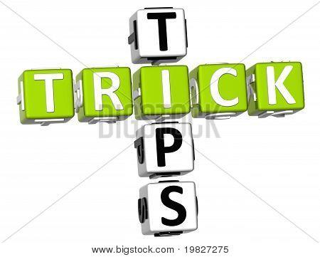 Trick Tipps-Kreuzworträtsel