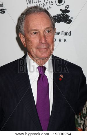 NEW YORK -  DECEMBER 6: Michael Bloomberg attends  the 20th Anniversary Celebration Of The Children's Defense  at Guastavino`s  on December 6, 2010 in New York.