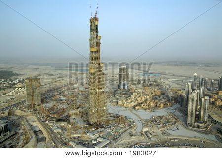 Burj Dubai In The United Arab Emirates