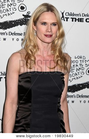 NEW YORK - DECEMBER 06: Stephanie March   attend the 20th Anniversary Celebration of the Children's Defense Fund's Beat the Odds Program at Guastavino's on December 6, 2010 in New York City.