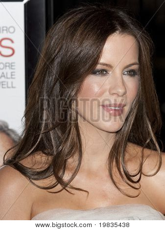 HOLLYWOOD, CA. - NOVEMBER 3: Kate Beckinsale attends the AFI Fest premier of Everybody's Fine at The Grauman's Chinese Theater on November 3, 2009 in Hollywood.