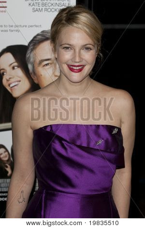 HOLLYWOOD, CA. - NOVEMBER 3: Drew Barrymore attends the AFI Fest premier of Everybody's Fine at The Grauman's Chinese Theater on November 3, 2009 in Hollywood.