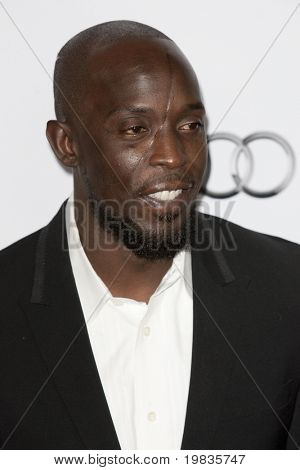 HOLLYWOOD, CA. - NOVEMBER 4: Michael K. Williams attends the AFI Fest screening of The Road at The Grauman's Chinese Theater on November 4, 2009 in Hollywood.