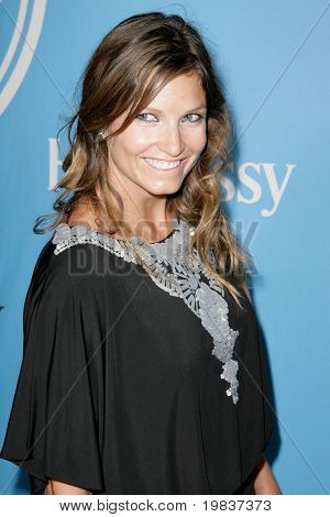 HOLLYWOOD, CA. - JULY 13: Olympic giant slalom Gold Medalist Julia Mancuso attends Fat Tuesday at The ESPYs on July 13, 2010 in Hollywood, Ca.