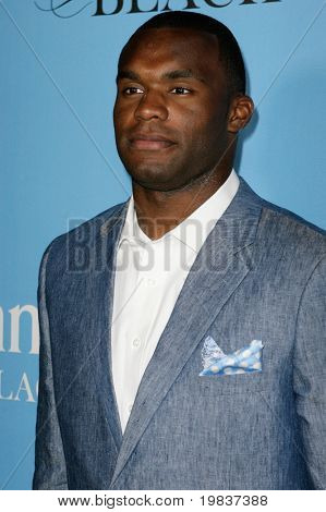 HOLLYWOOD, CA. - JULY 13: Tennessee Titans football player Myron Rolle attends Fat Tuesday at The ESPYs on July 13, 2010 in Hollywood, Ca.